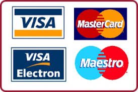 Pay with your debit or credit card