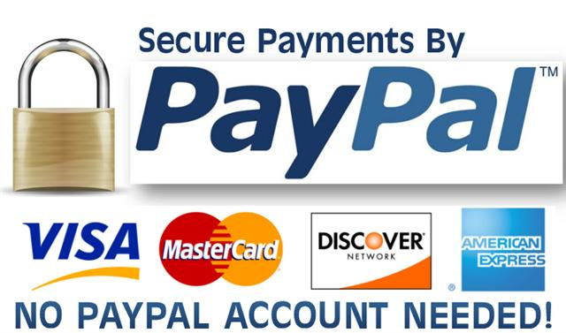 Townsend design accept paypal payments